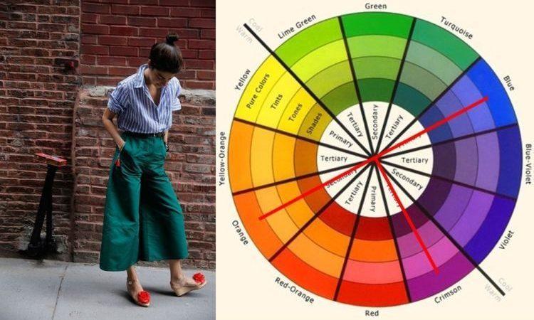 Tips Padu Padan Warna Baju. Cocok Nih Buatmu yang Suka Gagal Matching!