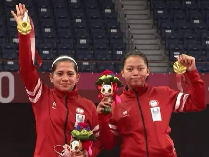 Leani dan Khalimatus Raih Emas di Paralympics 2020